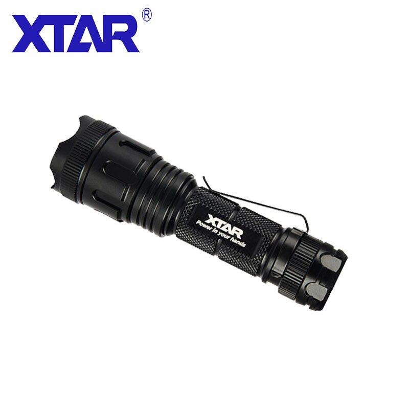 XTAR EDC фонарик водонепроницаемый светодиодный фонарик для AA Ni MH/AA ALKA/14500 литий ионный аккумулятор мощный фонарик для кемпинга на открытом воз