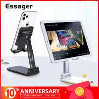 Essager mesa suporte do telefone móvel suporte para iphone ipad ajustável mesa de metal tablet suporte universal suporte do telefone celular