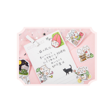 45pcs/box Lovely Cat Cute Boxed Stickers Planner Scrapbooking Stationery Japanese Diary