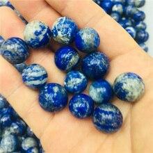 Natural rare Lapis lazuli stone quartz crystal ball home decoration natural stone cutting polishing ball natural rose quartz crystal bead