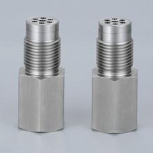 Yetaha eliminador de CEL con Mini convertidor catalítico para M18 X 1,5, espaciadores de Sensor de rosca O2, luz de motor, 2 uds.
