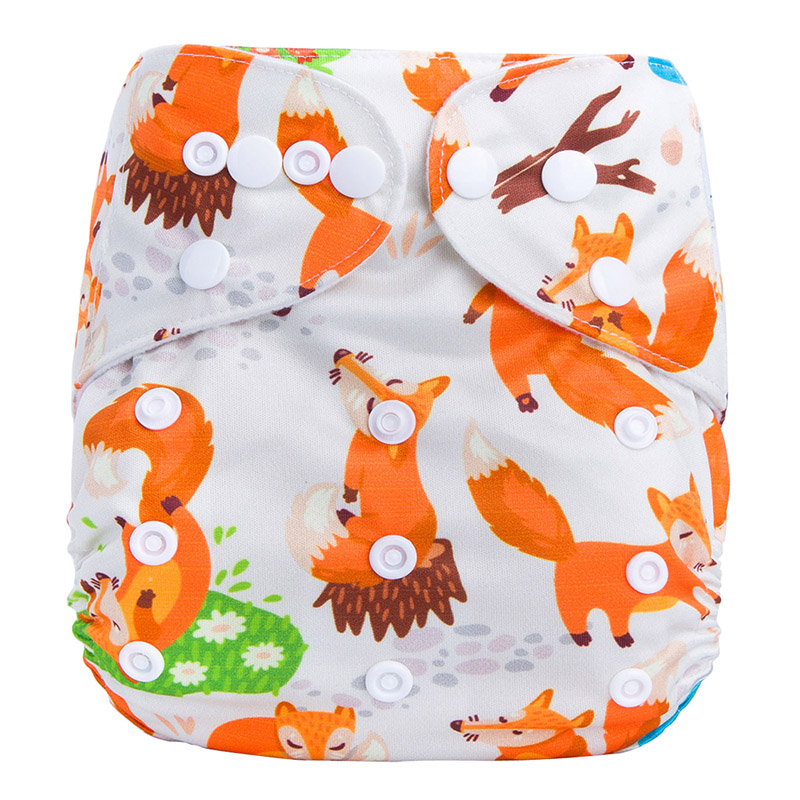 Eco Friendly Feel Free Boy Cloth Diapers 100% Cotton Soft Care Digital Baby Fine Diapers F4