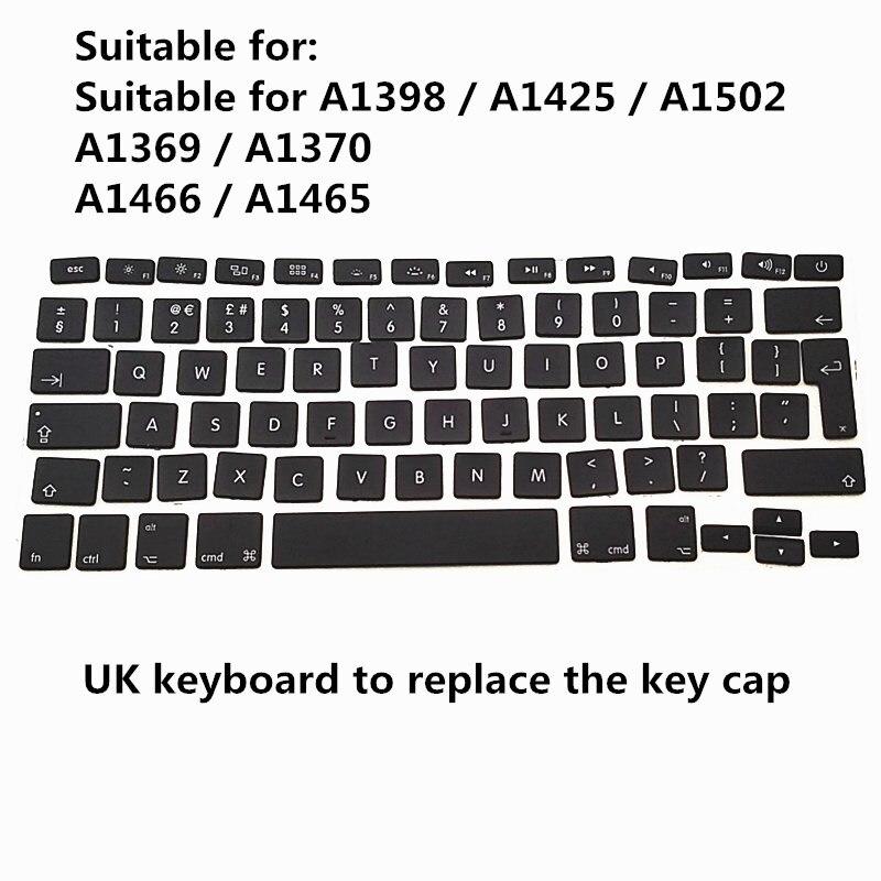 Клавиатура с английскими клавишами для Macbook Pro Air 13 ''15'' A1370 A1465 A1466 A1369 A1425 A1398 A1502, колпачки для ключей 2010-2015