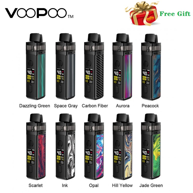 Original VOOPOO VINCI Mod Pod Vape Kit 1500mAh Battery & 5.5ml Cartridge Electronic Cigarette Vaporizer Pen Vape Kit