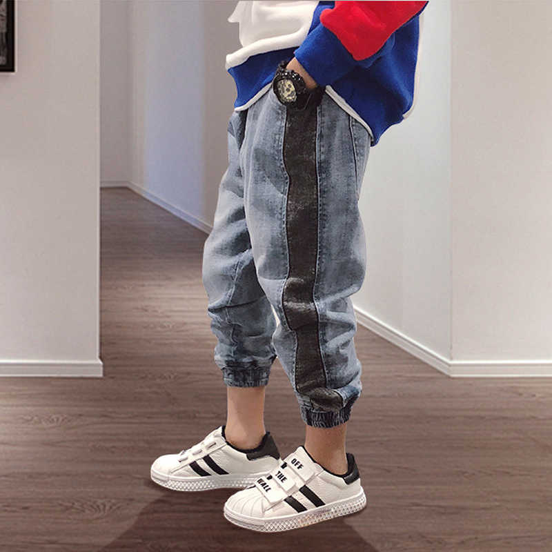 Boys kids Jeans 2019 Spring Autumn Fashion Boy Jeans Casual Children Clothing Denim Trousers Kids Pants 4 6 7 8 9 10 11 12 Years