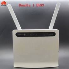 Unlocked Used Huawei 4G Modem Router B593 E5186 B525 B528 with Antenna 4G LTE Router WIFI Router SIM Card Pocket wifi router new in box unlocked huawei hg552d adsl2 moden router