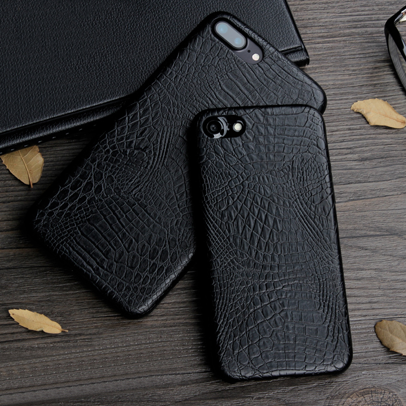Custodia per cellulare in pelle di serpente di coccodrillo di lusso per iPhone 7 8 6 6S Plus Custodia morbida in pelle PU per iPhone X XS MAX XR 5s 5 SE Custodia Coque