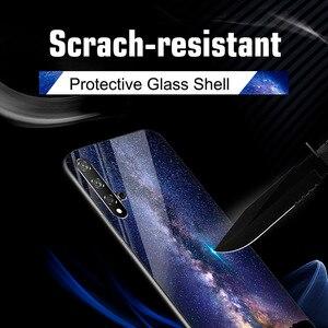 Image 5 - Étui de luxe Pour Huawei P30 Téléphone Pare chocs Motif Funda Pour Huawei P30 ELE L29 ELE L09 ELE L04 Trempé Verre Shockpro Couverture