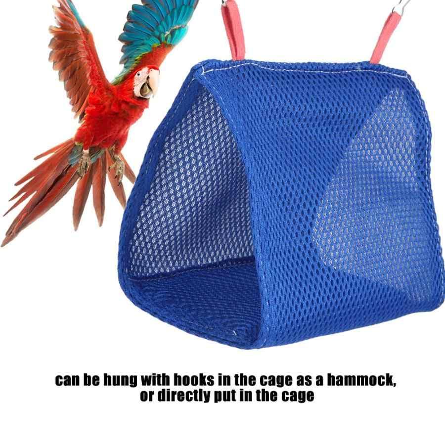Letnie oddychające oczek dla zwierząt domowych łóżko hamak chomika dom klatka zabawkowe zwierzątko ptak wiszące jaskinia klatka hamak dla zwierzęcia domowego