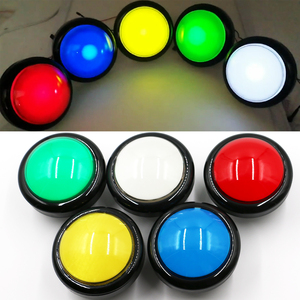 100mm Push Button Large 5V 12V illuminated Button 10CM Light Button For Arcade Vending machine, Answering Device