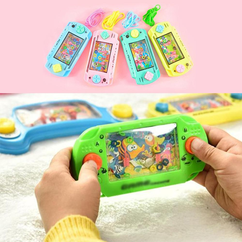 Educational Water Ring Toss Child Handheld Game Machine Cultivate Thinking Ability Toys Parent-Child Interactive Game Toys