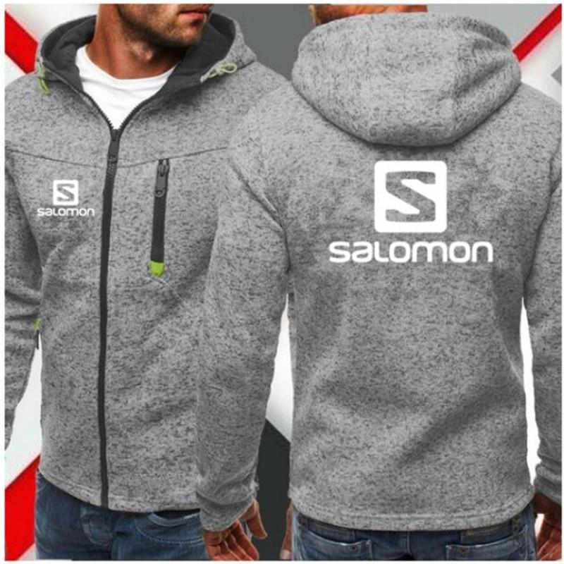 H6ccda2a84601403a95f5fc5542707f4aJ Men Sports Casual Wear Zipper COPINE Fashion Tide Jacquard Hoodies Fleece Solomon Jacket Fall Sweatshirts Autumn Winter Coat