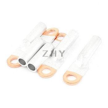 5 шт. компрессионный алюминиевый медный биметаллический клеммный наконечник 13 мм кольцо для 2/0 AWG