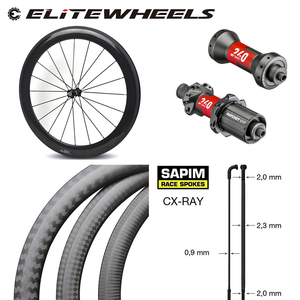 Image 1 - Высококачественное бескамерное углеродное велосипедное колесо, 38 мм, 50 мм, 60 мм, 88 мм, глубина 700c, дорожный велосипед, комплект колес DT240S /DT350S, ступица Sapim CX Ray спицы