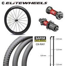 Rueda de bicicleta de carbono sin cámara de alta gama, 38mm, 50mm, 60mm, 88mm de profundidad, 700c, juego de ruedas para bicicleta de carretera, DT240S /DT350S, cubo Sapim cx ray Spoke