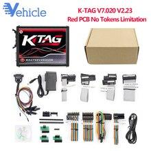 KTAG ECU Инструмент для программирования V7.020 V2.23 с многоязычным неограниченный Токен автомобиль/мотоцикл/грузовик Программирование ECU нет Token Limited