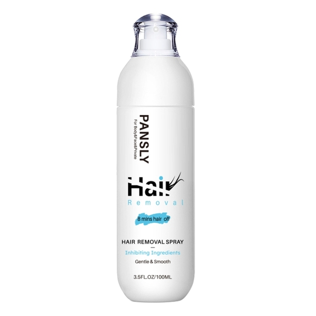 100ml Hair Growth Inhibitor Facial Removal Cream Spray Beard Bikini Legs Body Armpit Moisturizing Painless Non-Irritating 1