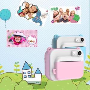 Image 5 - HitTime 2 Мини DIY мгновенная термопечать цифровая камера автоматическая печать фотографий 8 Мп образовательная детская камера детские игрушки
