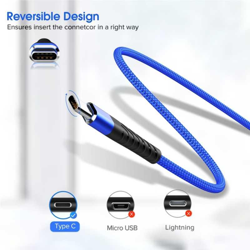 Vothoon 3A Snel Opladen Type C Usb Kabel Voor Samsung S10 Xiaomi Redmi Note 7 Type C Mobiele Telefoon Opladen wire Cord Usb C Kabel