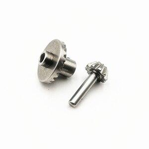 Image 5 - Pièces de rechange de voiture RC mise à niveau engrenage en métal pour MN modèle D90 D91 WPL B14 B24 B16 C14 C24 B36 KIT dessieu arrière en métal jouets