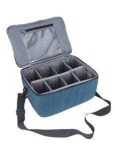Image 1 - Su geçirmez dslr kamera Lens Çantası Ekleme Koruma Çanta Taşıma Tote Yastıklı Kılıfı Lens Kılıfı Canon Nikon Sony için