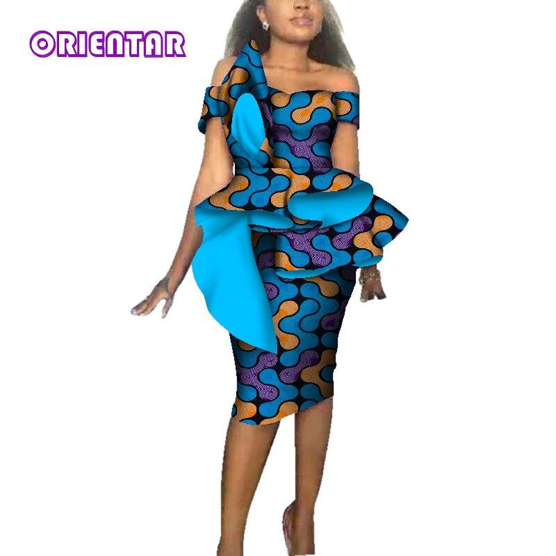 Moda feminina africano vestidos para festa de