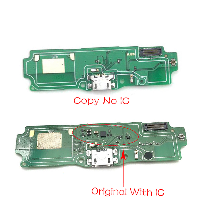 USB Power Charging Port Connector Board Parts Flex Cable With Mic Microphone For Xiaomi Redmi 5A