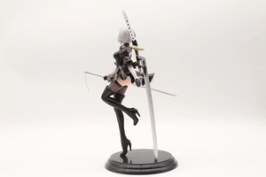 Image 2 - New Japan Anime Action Figure Game Nier:automata 2b YoRHa No.2 Type B Black Dress Sword Ver PVC 25CM Model Sexy Decoration Doll