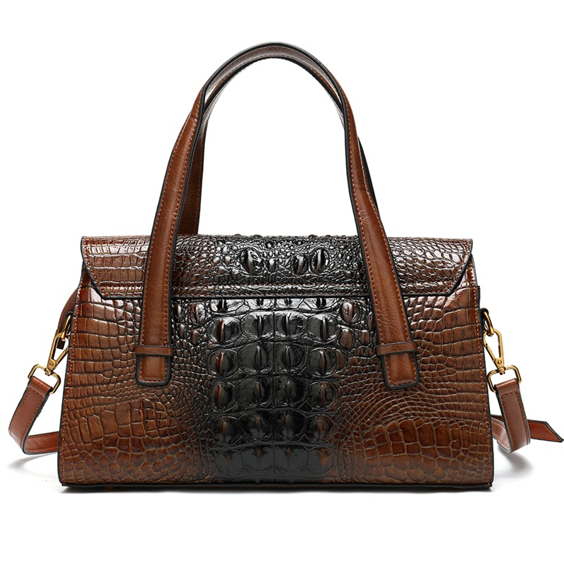 Image 3 - WESTAL handbags womens genuine leather alligator design womens 