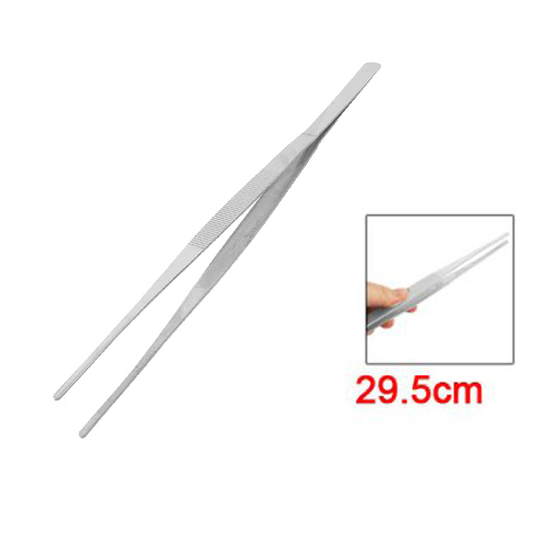 طرف نقطة مستقيمة الفولاذ المقاوم للصدأ الملقط المغناطيسي 29.5 سنتيمتر طويلة