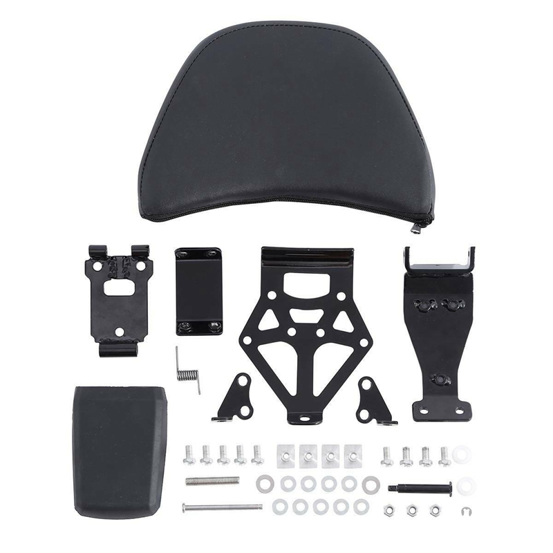Motorcycle Adjustable Driver Rider Seat Backrest Kit For Honda Goldwing GL1800 2001-2017 16 15 14 13