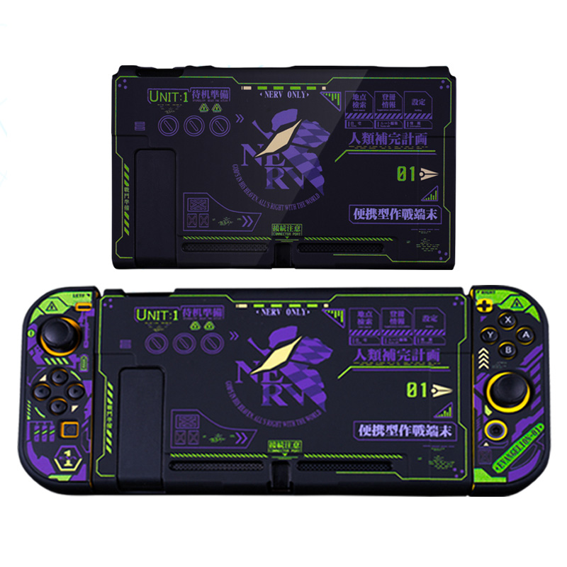 Case for Nintendo Switch Joy con NS Joycon gamepad joypad Cover Shockproof(China)