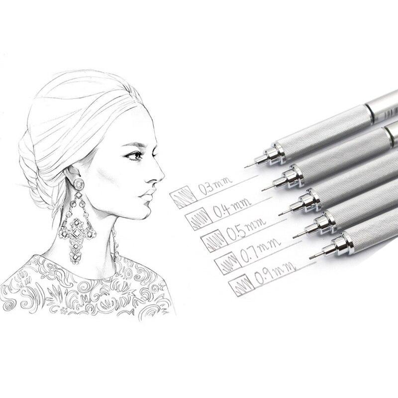 Image 4 - Mechanical Pencil Original Japan Uni SHIFT Pipe Lock Metal pen M3/M4/M5/M7/M9 1010 0.3/0.4/0.5/0.7/0.9MMuni shiftmechanical pencilpencil mechanical -