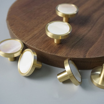 Brass Cabinet Knobs and Handles Shell Drawer Knobs Kitchen Knobs Gold Knobs for Furniture Cupboard Handles Pulls black handles for furniture cabinet knobs and handles kitchen handles drawer knobs cabinet pulls cupboard handles knobs