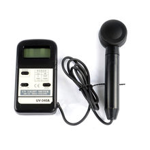 Digital UV Light Meter Rentang 0-1999uW/Cm2 2000-19990uW/Cm2 290-390nm UVA UVB Light Meter Sinar Ultraviolet Tester UV radiometer(China)