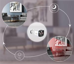Image 4 - AZISHN 1080P IP המצלמה onvif זיהוי תנועת RTSP חיצוני עמיד למים מקורה וידאו אבטחת מעקב Bullet 48V POE טלוויזיה במעגל סגור מצלמת