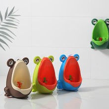 Frog Children's Urinal for Boy Pot Children's Potty Urinal Children's Potty Child Urinal Baby Boy Urinals Pee Potty Baby Toilet(China)