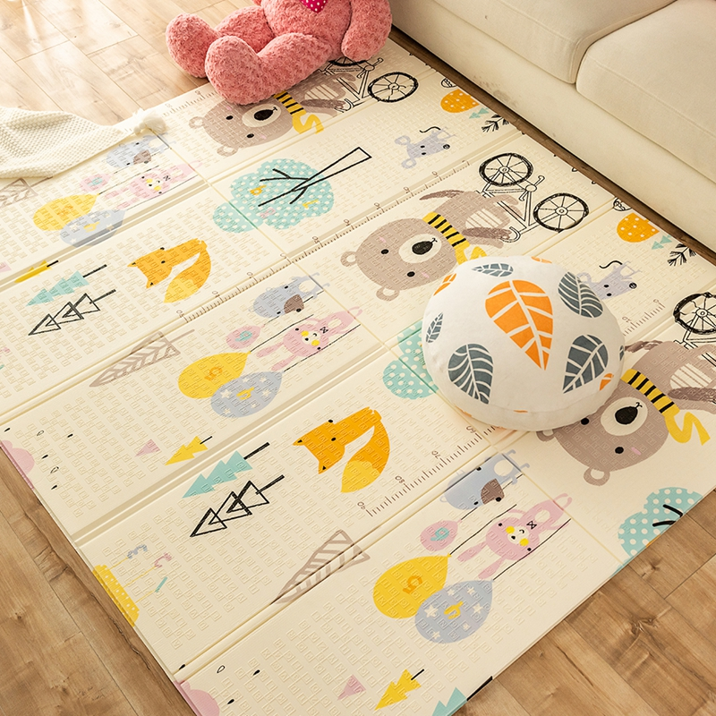 Foldable Baby Play Mat XPE Foam Puzzle Carpet Playing Mat For Baby Large Playmat Crawling Thick Mats Playing Waterproof Blanket