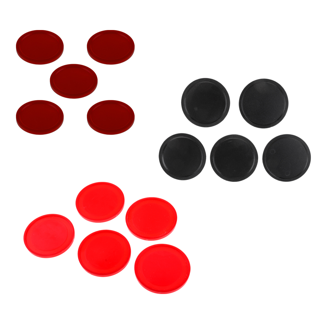 5 Pieces Air Hockey Table Replacement Pucks For Full Size Air Hockey Tables