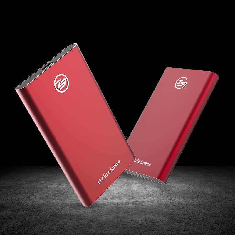 KingSpec zewnętrzny dysk SSD dysk twardy 120GB SSD 240GB 500GB przenośny zewnętrzny dysk twardy SSD 1TB hdd do laptopa z typem C USB 3.1