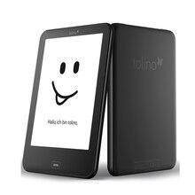 Tolino vision 2 e leitor e-ink 6 polegadas 1024x758 tela sensível ao toque leitor ebook wifi tap2 capa para página girando! Diariamente à prova d' água
