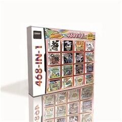 468 ב 1 חם משחק מחסנית עבור DS 2DS 3DS משחק קונסולת למעלה איכות