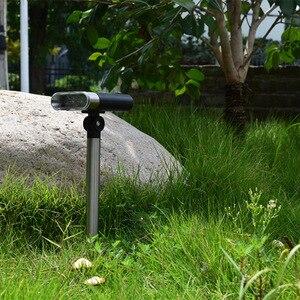 Image 4 - Nuovo regolabile solare lampada di proiezione della luce solare del prato giardino esterno impermeabile della luce di paesaggio in terra luce di emergenza