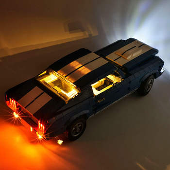 Lightaling Led Light Kit For Creator Compatible With 21047 11293 10265 Ford Mustang Building Blocks (NOT Include The Model) image