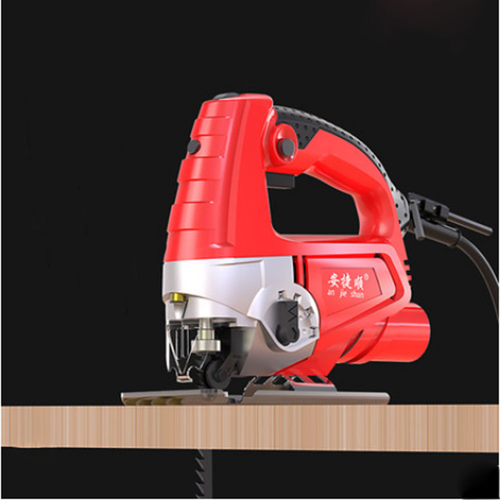 Woodworking jigsaw 6 gear speed regulation with laser multi-function electric saw power tool can saw metal saw wood to send saw