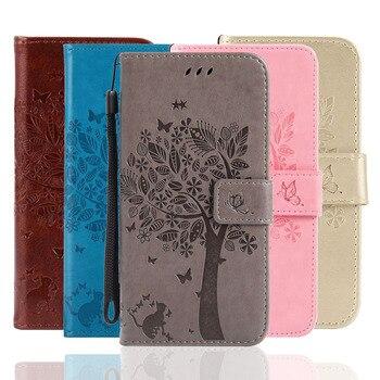Перейти на Алиэкспресс и купить Для UmiDigi A3S Чехол-книжка из искусственной кожи чехол для телефона для UmiDigi A3X кошелек