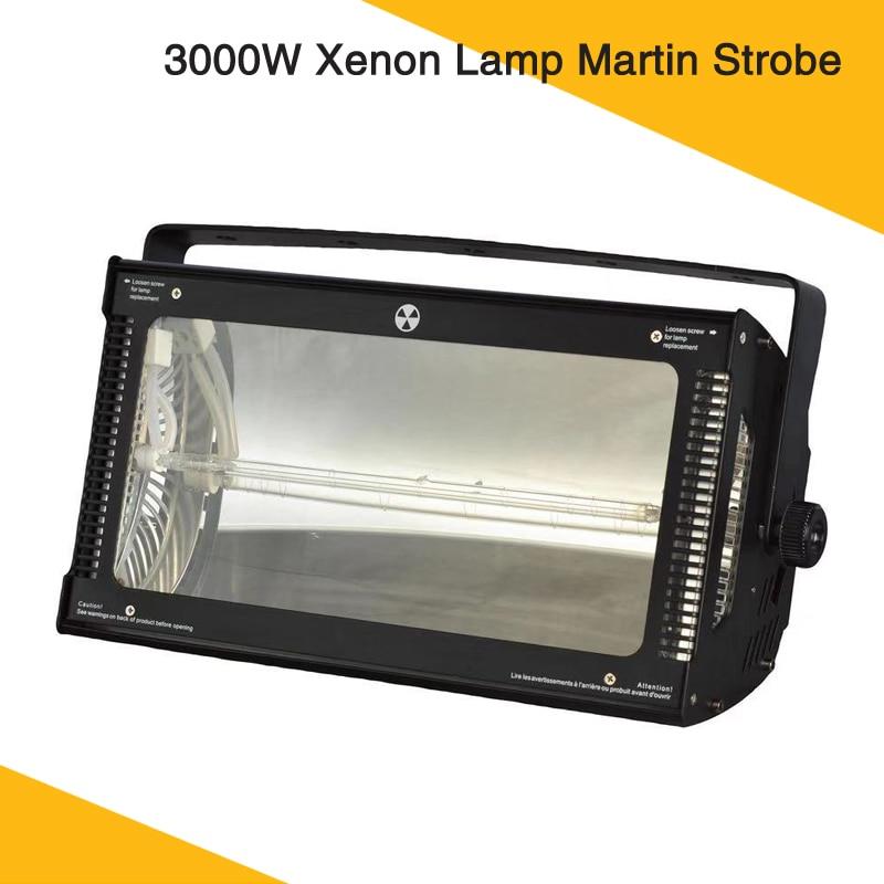 Lumière stroboscopique de lampe de xénon de l'éclairage d'étape de puissance élevée 3000W avec le contrôle de DMX