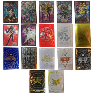 50PCS/LOT Game Yu Gi Oh Game Collection Cards Professional Plastic Jacket Card Holder Variety of Colors Card Protector