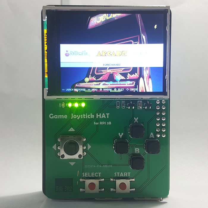 New 2.2 Inch Display And Joystick Add On Game HAT For Raspberry Pi RETROPIE