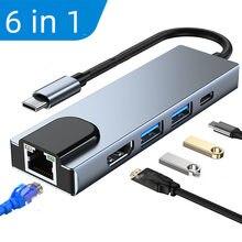 USB C HUB Type C to Multi USB 3.0 HUB HDMI Adapter Dock for MacBook Pro Huawei Mate 30 USB-C 3.1 Splitter Port Type C HUB